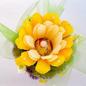 kommid korvis lilledega