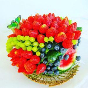 Söödav lillekimp aedviljadest või puuviljadest