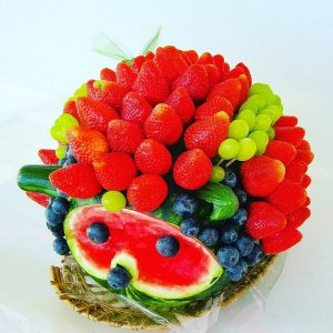 puuvilja kimp